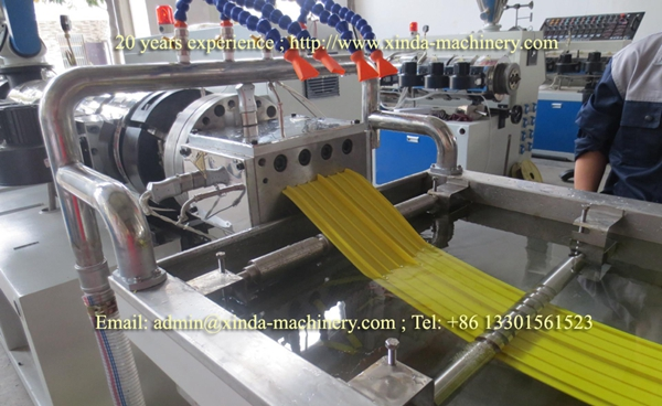 PVC waterstop belt making machine