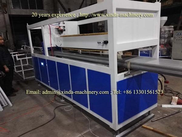 PVC quarts sand marble profile making machine