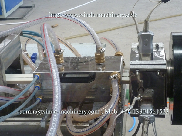 PVC wire tube production line