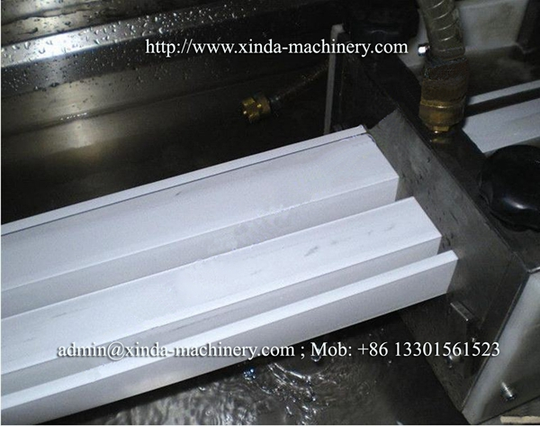 PVC wire trunk making machine