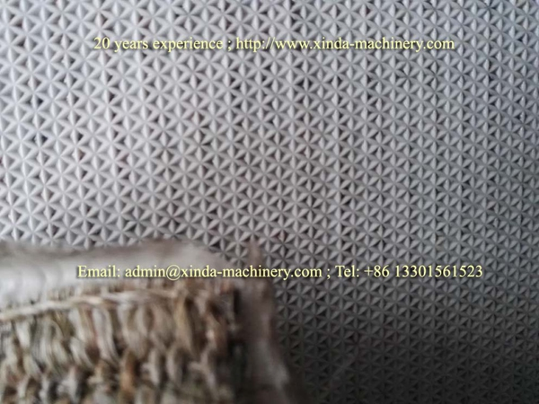 jute carpet backing TPE machine
