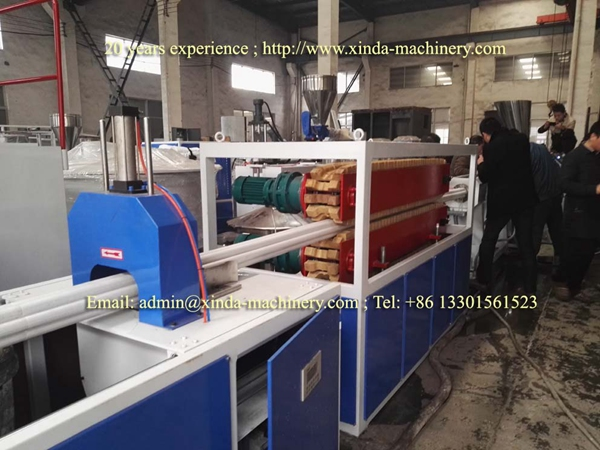 PVC multihole pipe prodution line