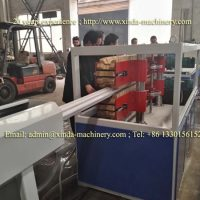 PVC multihole pipe making machine