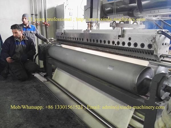 carpet coating TPE machine