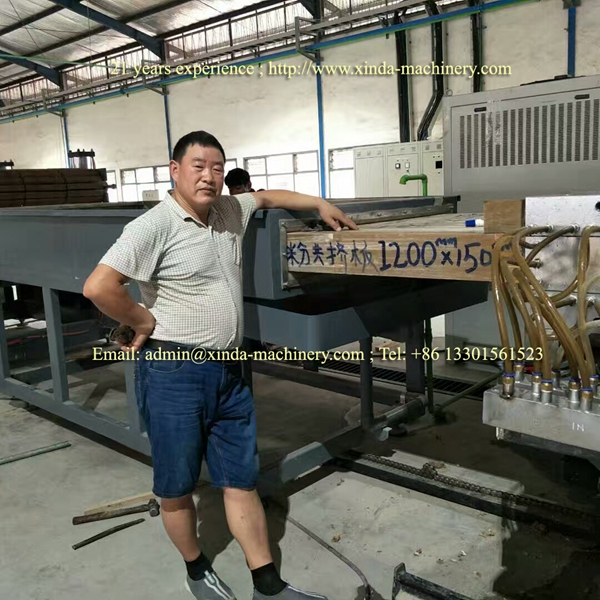 ABS sheet making machine