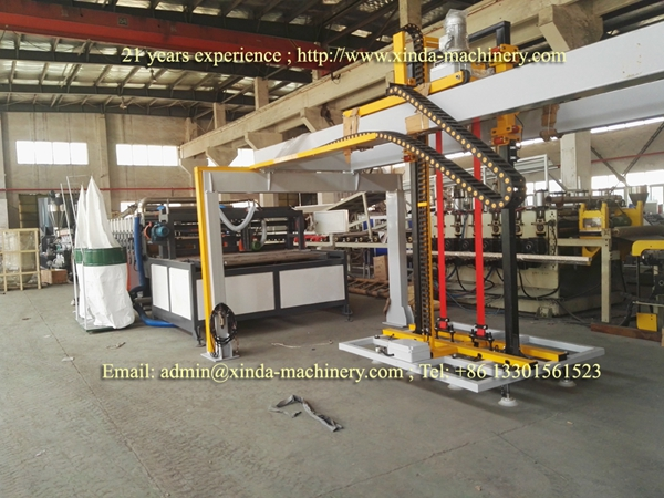 ABS board making machine