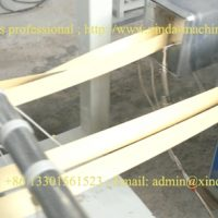 PVC edge banding production line 4-output