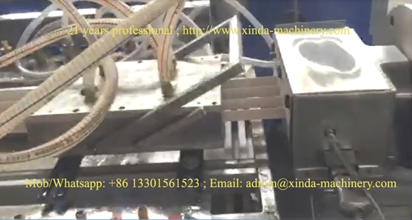 PVC corner guard line making machine