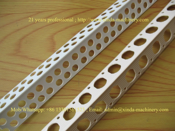 PVC angle staff making machine