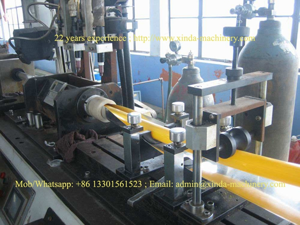 butt welded PEX-Al-PEX multi-layer pipe make machine