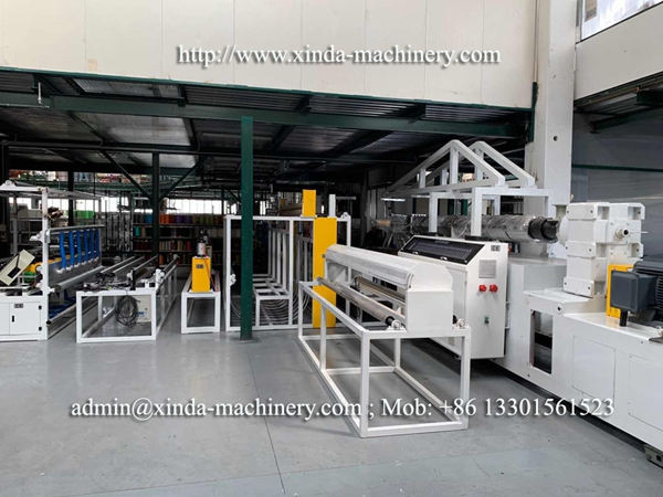 carpet coating TPE machine