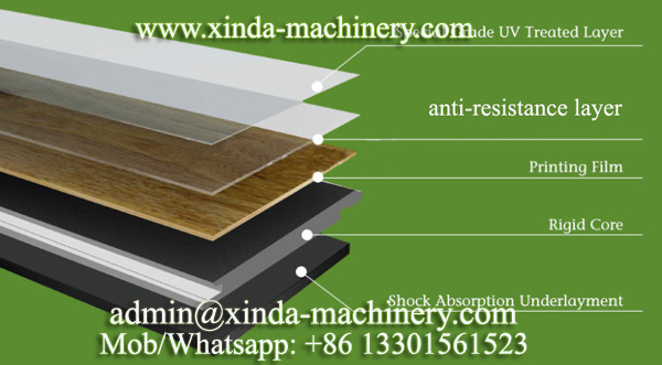 PVC SPC floor making machine