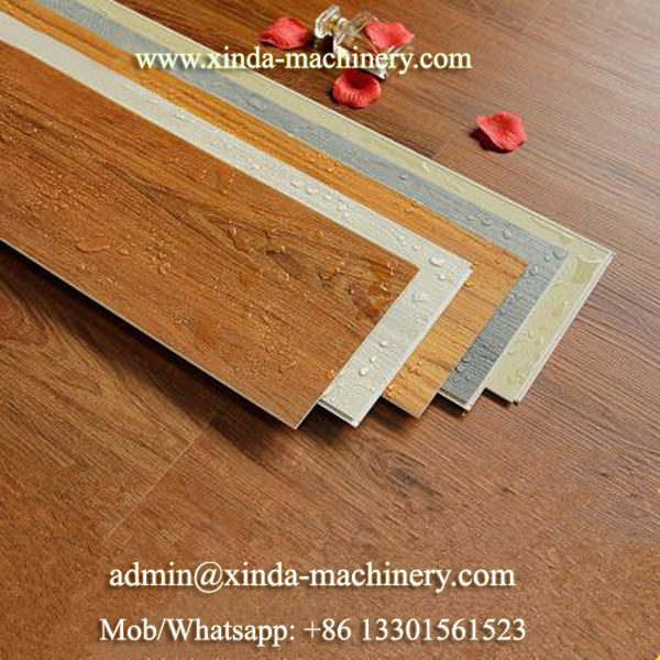 PVC SPC floor machine