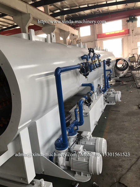 630-1000mm PVC pipe machine