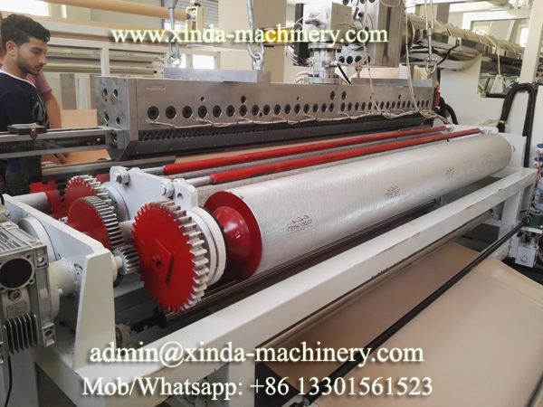 carpet backing PVC machine