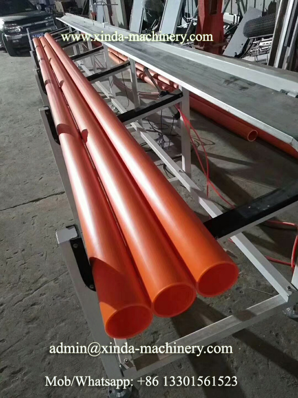 MPP wire pipe machine