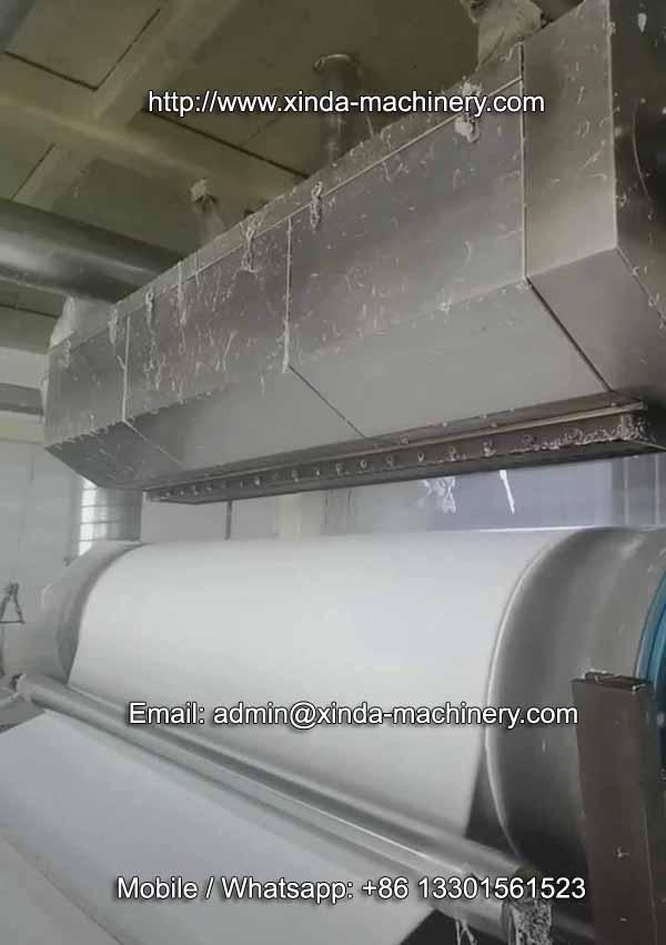 1.6m PP melt blown fiter fabric machine