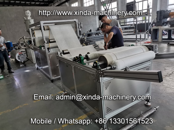 PP meltblown fabric machine
