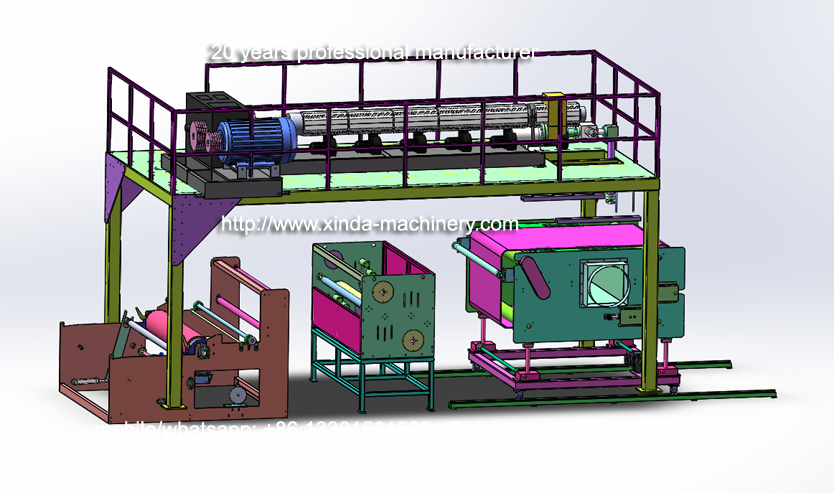 1.6m PP melt blown fabric making machine