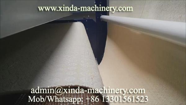 Fabric coating PVC dots machine
