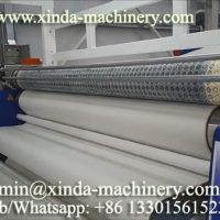 fabric felt dotting PVC machine