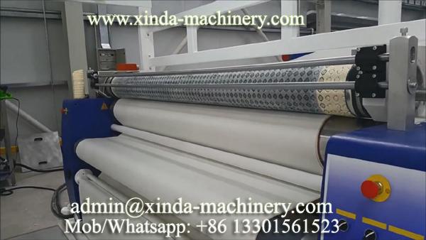 fabric felt dotting PVC machine